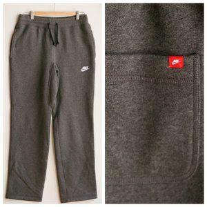 Classic Nike Fleece Lined Grey Jogger Pants